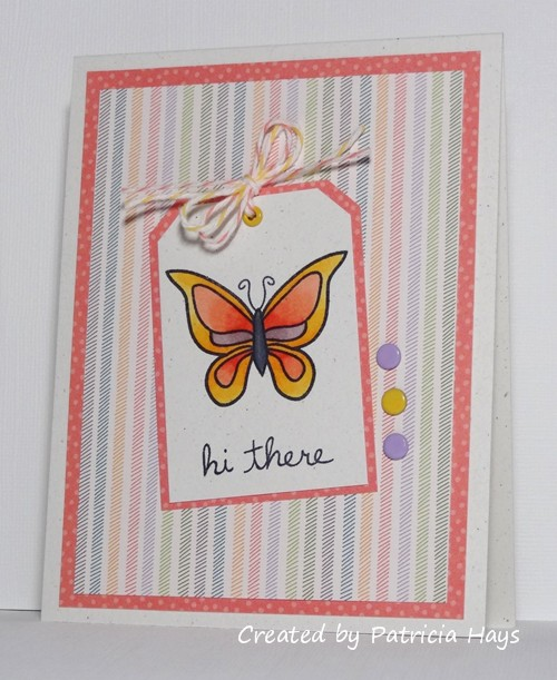 101- butterfly tag